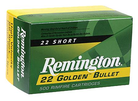 Rem Ammo 1522 22LR 40GR HV 50Bx|100Cs Plated Lead Round Nose