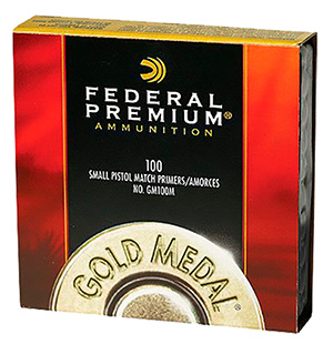 Federal GM205M Small Rifle Match Primers 10 Boxes of 100