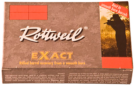 246940005 Exact Rottweil Standard 12 Gauge 2.75 Lead Slug 1-1|8 oz Slug Shot 5 Bx| 40 Cs in.