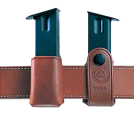Galco SMC24 Single Mag Case Snap 24 Fits Belts up to 1.75 Tan Leather in.