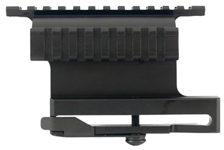 I.O. SCOP0040 Scope Rail Mount For AK47 Picatinny Style Black Finish