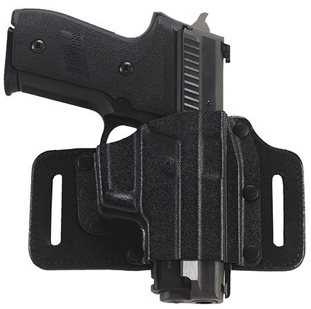 Galco TS158B Tac Slide Belt Holster S&W J Frame Kydex|Steerhide Black