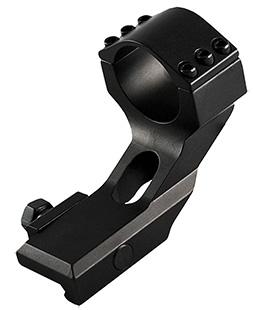 Aim Sports QW30WM Heavy Duty 30mm Rings w|1 Insert Cantilver Mnt 1.7 in. H Alum Blk in.