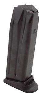 HK 215979S Magazine P2000 USP Compact 9mm 13 rd Polymer Black Finish