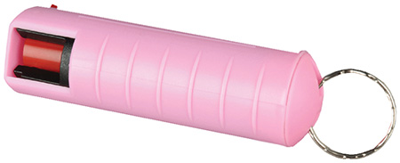 Tornado Personal Defense Tornado Pepper Spray, Armor Case, 11g, Belt Clip, Pink RPC093P