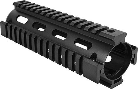 Aim Sports MT021 M4 Carbine Handguard Quad Rail Aluminum Black Hard Coat Anodized
