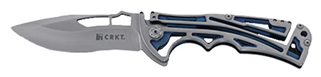 Columbia River 5240 Nirk Tighe 2 Folder AUS-8 Drop Point Blade 420J2 Stainless