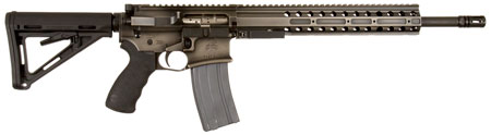 DRD Tactical CDR15BW556 CDR-15 Quick Break Down Semi-Automatic 223 Remington|5.56 NATO 16 30+1 Magpul MOE Black Stock Battle Worn in.