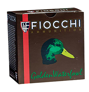 Fiocchi 123SGWT Steel Waterfowl Shotshells 12 Ga 3 in.  1-1/4oz T Shot 25Box/10Case