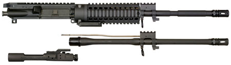 Windham Weaponry KITMCS1 Multi-Caliber Upper Kit 223 Remington|300 AAC Blackout 16 4150 Chrome Moly Vanadium Steel Chrome-Lined Black Phosphate Barrel Finish in.
