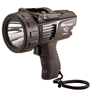 Streamlight 44911 Waypoint Rechargeable 30/370 Lumens Lithium Ion Black