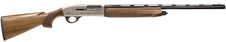 Breda|Dickinson BRE08 Echo Semi-Automatic 12 Gauge 26 3 in.  Walnut Stk Nickel in.