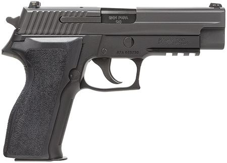 Sig Sauer 226RM9BSS P226 Full Size *MA Compliant* Single Double 9mm Luger 4.4 10+1 Black 1-Piece Ergo Grip Black Nitron Stainless Steel in.