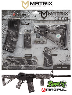 MDI MAGMIL19-ZS Reaper Z Silver Magpul MOE Kit Poly AR-15
