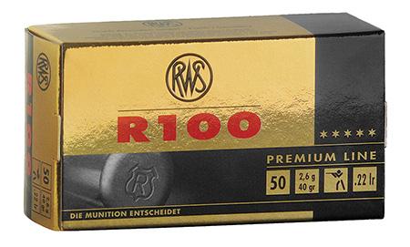 RWS 2134195 Premium Line R 100 C-Class 22LR 40 GR 50 Rounds|Box