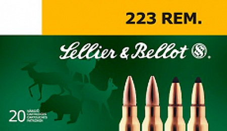 Sellier & Bellot SB223A Rifle Training 223 Remington|5.56 NATO 55 GR FMJ 20 Bx| 50 Cs