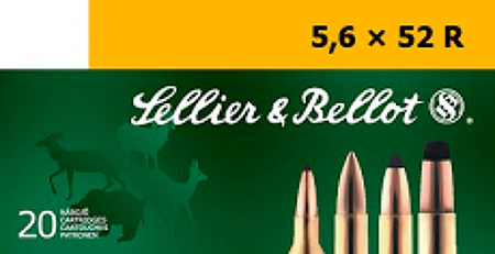 Sellier & Bellot SB5652RB Rifle Training 5.6mmX52R 70 GR FMJ 20 Bx  25 Cs
