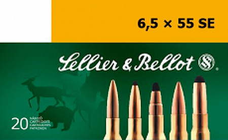 Sellier & Bellot SB6555C Rifle Training 6.5X55mm Swedish 140 GR FMJ 20 Bx| 20 Cs
