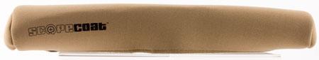 Sentry 10SC08CB Scopecoat Standard Scope Cover 14x52mm Large Slip On Neoprene|Nylon Laminate Coyote Brown in.