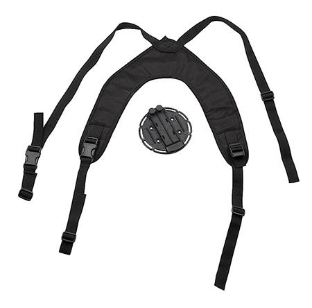 Blackhawk 40CH00BK Versa-Harness Holster|Accessory Platform Blk