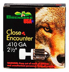 Brenneke SL4102CE Close Encounter 410 Gauge 2.5 1|4 oz Sabot Slug Shot 5 Bx| 90 Cs in.