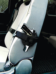 Peace Keeper 035SH Car Seat Concealment Medium|Large Medium|Large Frame Auto Nylon Black