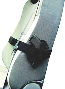 Peace Keeper 036SH Car Seat Concealment Small|Medium Frame Auto Nylon Black