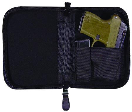 Peace Keeper NPCLBLK Holster-Mate Large Pistol Case Nylon Blk