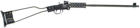 Chiappa Firearms 500110 Little Badger Single Shot Break Open 22WMR Blk