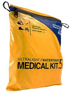 Adventure Medical Kits 01250292 Ultralight/Watertight .5 Medical Kit 1 Person 1-