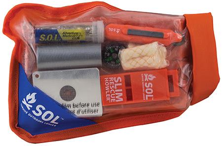 Adventure Medical Kits 01401727 SOL Scout Survival Kit Orange
