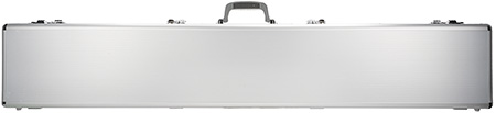 SilverBullet AL250 Double-Sided 2-4 Long Gun Case 55x9x6.5 ABS Plastic Silver