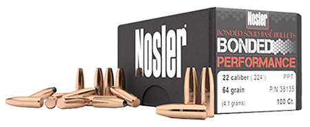 Nosler 38145 Bonded Solid Base