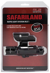 Safariland RLS13PIC1 Rapid Light System & Mount Ambidextrous AAA(3) Black