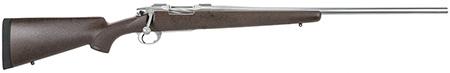 Nesika 60303 Sporter Rifle Bolt 30-06 Springfield 24 1 Bell & Carlson Brown w|Black Spiderweb Stk Stainless Steel in.