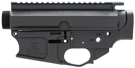DRD Tactical M762REC M762 Billet Lower|Upper AR-10 308 Winchester|7.62 NATO Black