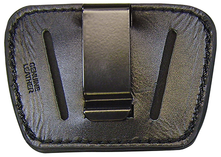 Homeland HL036BLK Belt Slide Holster Pistol Small|Medium Black Leather