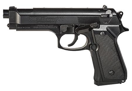 Daisy 0340 Powerline Model 340 Air Pistol .177 BB 200rd 240 fps Syn Stk Blk