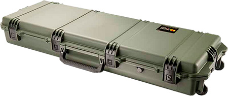 Pelican IM3200ODG Storm Long Case with Wheels HPX Resin OD Green 47.2 x 16.5 in.  x 6.7 in.  (Exterior) in.