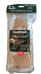 RamRodz 11800 Breech Cleaner Cotton Swab 3 800 Pack in.