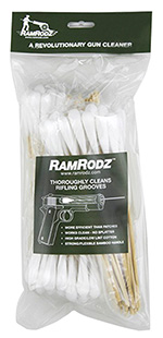 RamRodz 50075 Barrel Cleaner 50 Caliber Cotton Swab 8 75 Pack in.