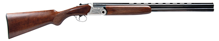 Dickinson OSHUNTER OS Over|Under 12 Gauge 26 3 in.  Wood Stk White Steel in.