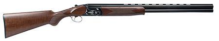 Dickinson OAHNTR OA Over|Under 12 Gauge 26 3 in.  Wood Stk Black|White Aluminum Alloy in.