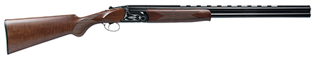 Dickinson OAHNTR OA Over|Under 12 Gauge 26 3 in.  Wood Stk Black|White Aluminum Alloy Rcvr in.