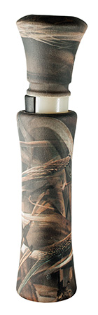 Duck Commander DC2006 Camo Max Duck Call Double Reed Plastic Max-4