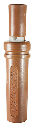 Duck Commander DCTH Teal Hen Duck Call Double Reed Plastic Brown