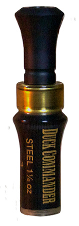 Duck Commander DC3INMAG 3 Inch Magnum Duck Call Double Reed Acrylic Black