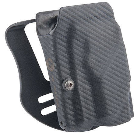 UM TACTICAL UMH3CR Universal Holster Paddle Right Hand Attach Carbon Fiber Black
