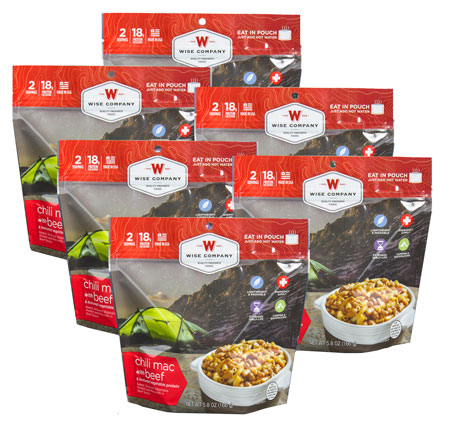 Wise Foods Outdoor Food Kit Chili Mac with Beef 05901