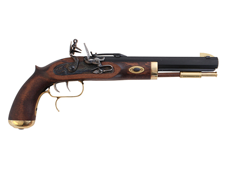 Traditions P1090 Trapper Flintlock 50 Black Powder 9.75in. Prim/Blade